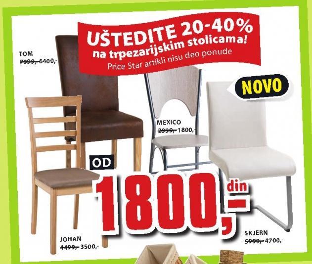 Trpezarijska stolica Skjern