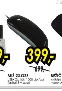 Optički miš GLOSS