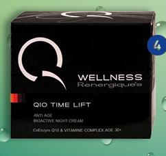 Noćna krema za lice Q10 Time Lift