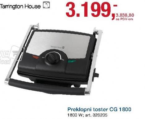 Preklopni toster Cg 1800