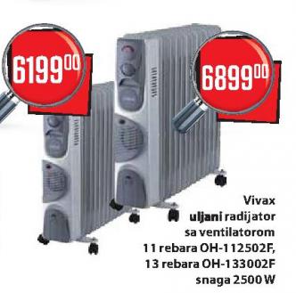 Uljani radijator sa ventilatorom