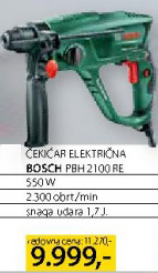 Električna čekićar bušilica Pbh2100re