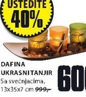 Dafina ukrasni tanjir