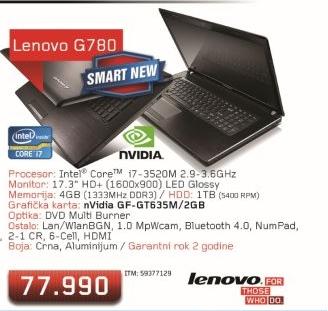 Laptop G780