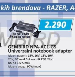 Adapter za laptop NPA-AC1D