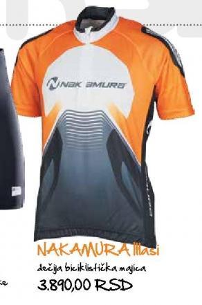 Dečija biciklistička majica Nakamura Ittasi