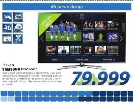 Televizor UE40F6400