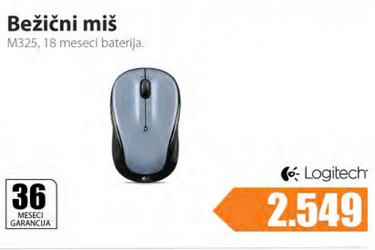 Bežični miš M325