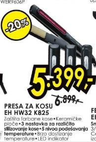 Presa za kosu EH HW32 K825