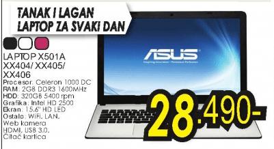 Laptop X501A/XX404/XX405/XX406