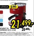 Aparat za espresso ECO 310R