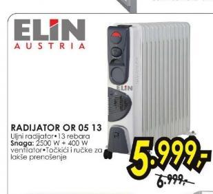 Radijator OR 05 13