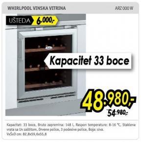 Vinska vitrina Arz 000 W