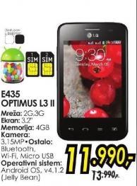 Mobilni telefon E435 Optimus L3 II