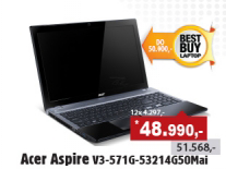 Laptop Aspire V3-571G-53214G50Maii