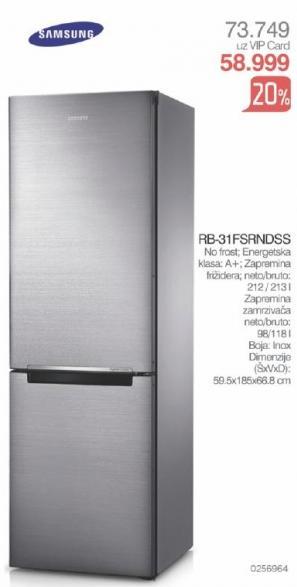 Kombinovani frižider Rb-31fxrndss