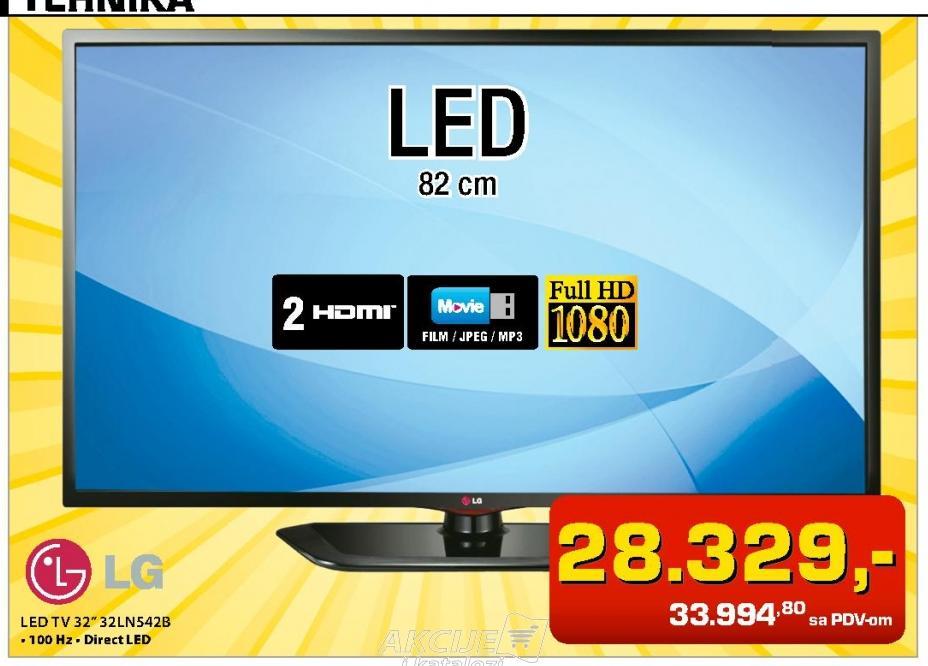 """Televizor LED 32"""" 32LN542B"""