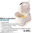 Mikser Sa Posudom HR1565/40