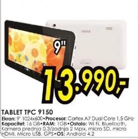 Tablet Tpc 9150