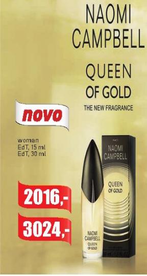 Toaletna voda  Queen of Gold