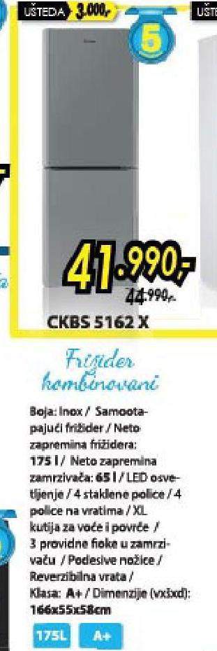 Frižider CKBS 5162 X