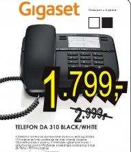 Telefon DA 310 BLACK