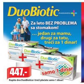 DuoBiotic kapsule