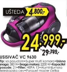 usisivač VC 9630