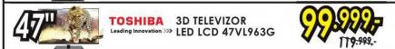 Televizor 3D LED LCD 47VL963G