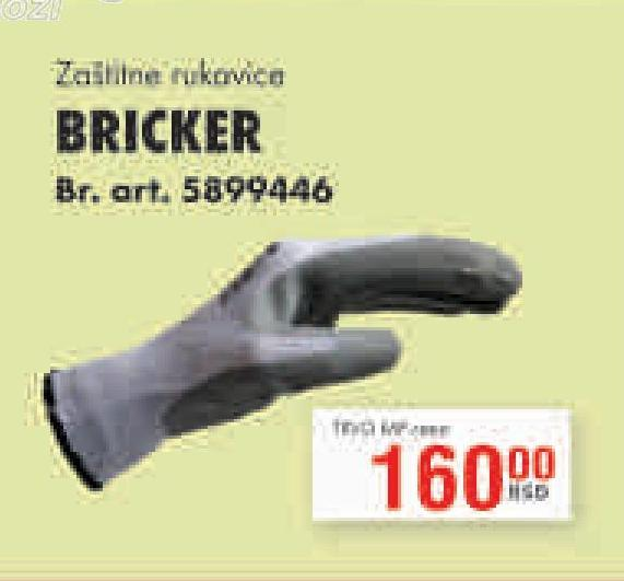 Rukavice zaštitne Bricker