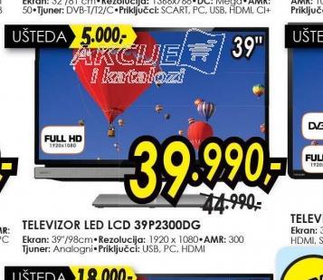 Televizor LED LCD 39P2300