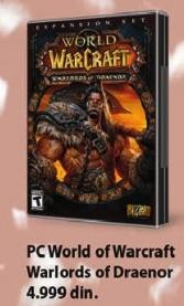 PC igra World Of Warcraft Warloads Of Draenor