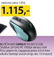 Bežični Miš Ns-601S USB