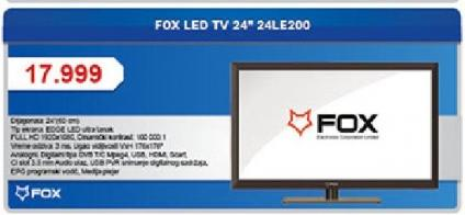 "Televizor LED 24"""