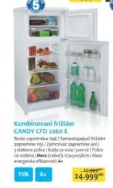 Kombinovani frižider CFD 2060 E