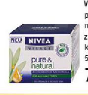 Visage pure&natural noćna krema