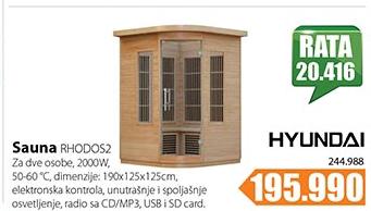 Sauna RHODOS2