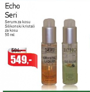 Silikonski kristali za kosu Echo Seri
