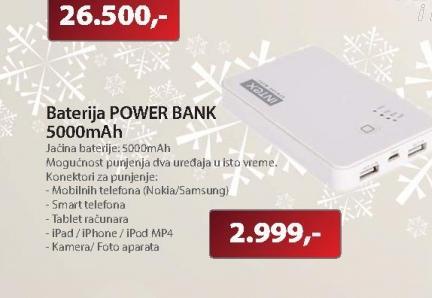 Baterija POWER BANK