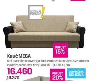Kauč Mega