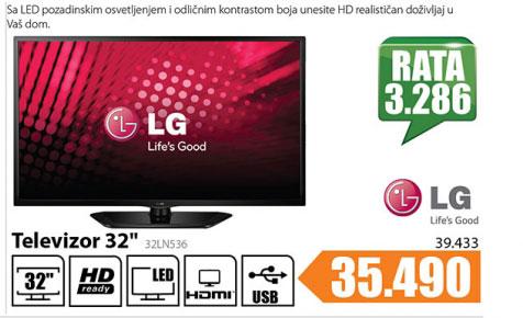 Televizor LED LG 32LN536