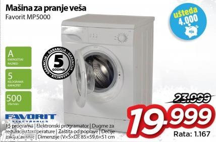 Mašina za pranje veša Mp5000
