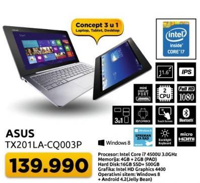 Laptop Tx201la-cq003p