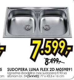 Sudopera Luna Flex 2D M059891