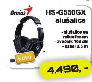Slušalice Hs-G550gx