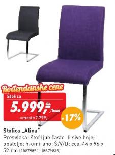 Trpezarijska stolica Alina