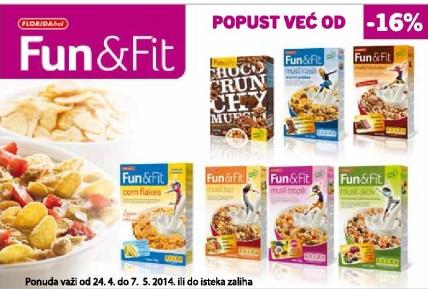 Fun&fit popust
