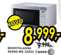Mikrotalasna rerna MS-2042U