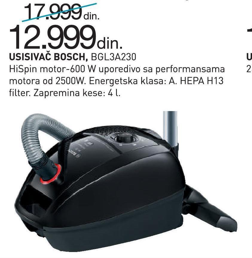 Usisivač BGL3A230