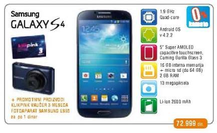 Mobilni telefon Galaxy S4